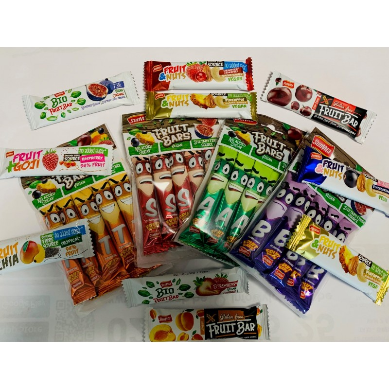 Discovery pack : 40 fruit bars