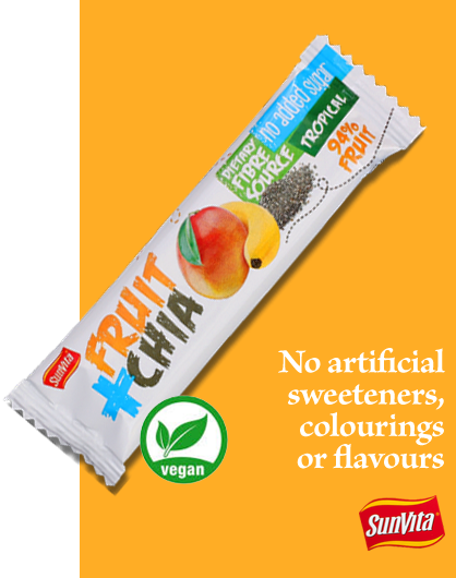 No artificial sweeteners, colouring or flavours